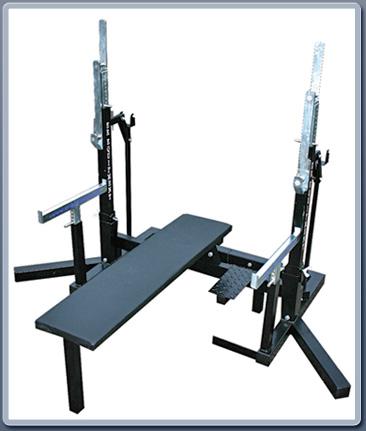 Used Squat Rack >> ER Racks - IPF Squat and Bench Combo Powerlifting Racks